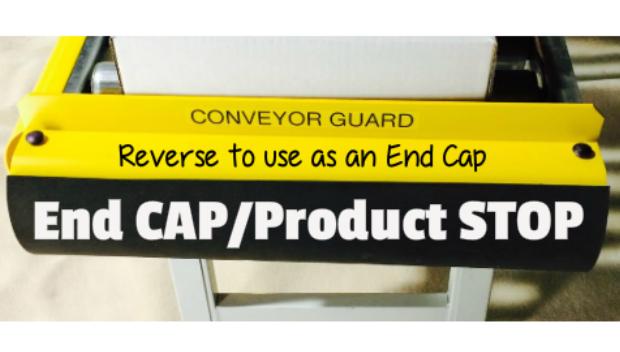 Conveyor Guard End Cap / Product Stop
